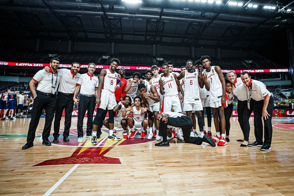 Canada's FIBA U19 Men's team claims bronze with 101-92 win over Serbia