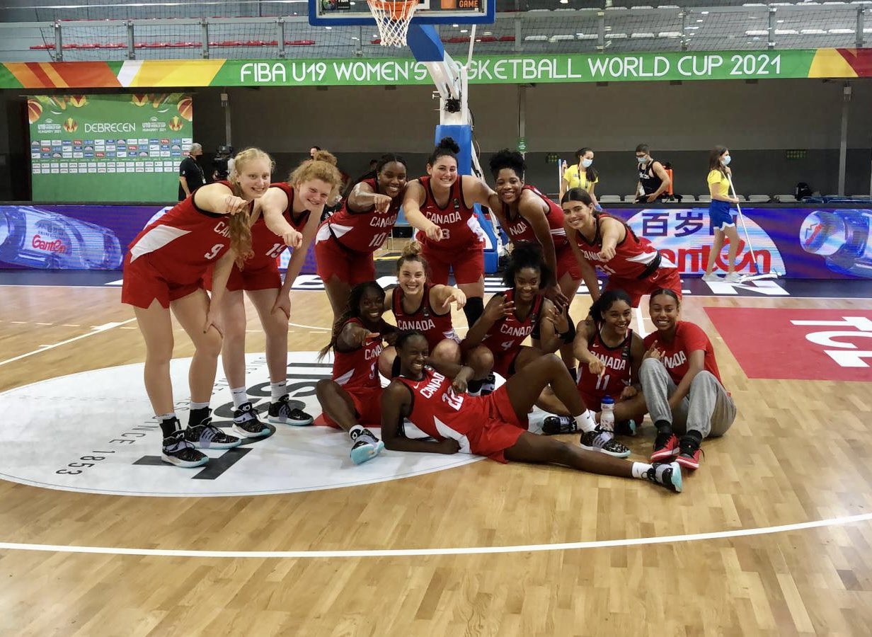 Canada finishes 5th at the FIBA U19 Women's World Cup with 72-61 handling of the Czech Republic