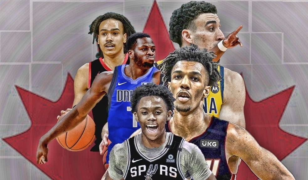 3 Canadians selected in the NBA Draft while 2 more find spots on rosters