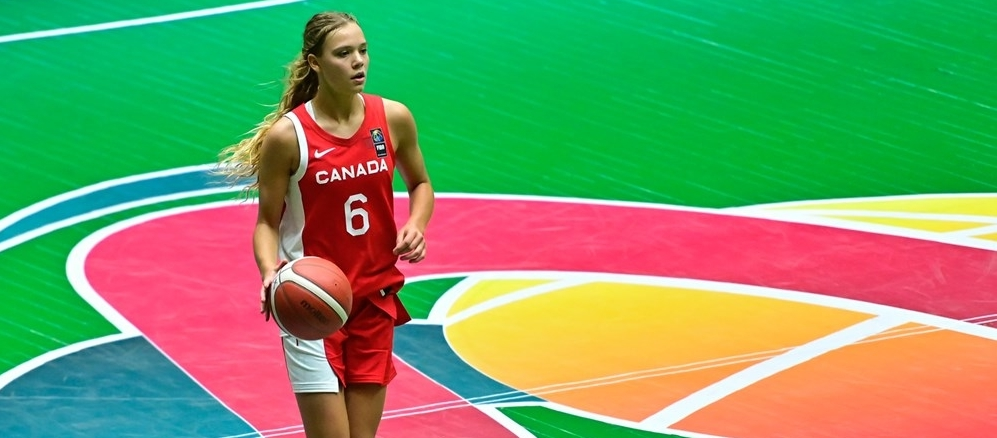 Canada improve to 2-0 with monster 112-25 win over Costa Rica at U16 Americas Women's Championship