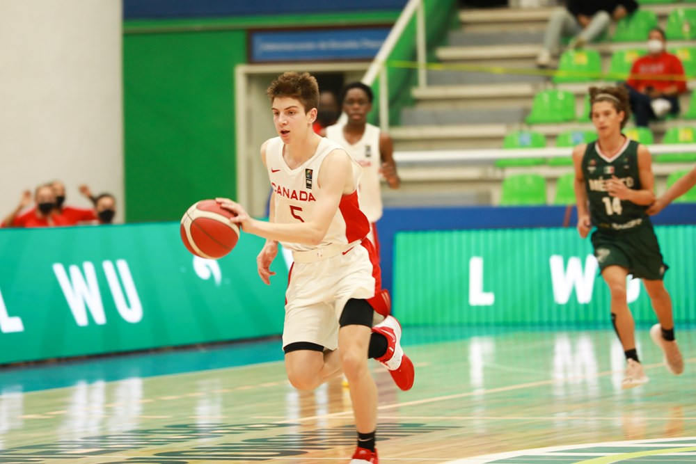 Canada gets into the win column at FIBA U16s crushing Mexico 85-49