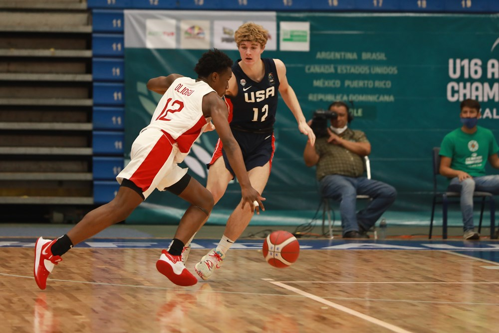 Canada falls 99-81 to the USA at the U16 Americas, will play for Bronze in